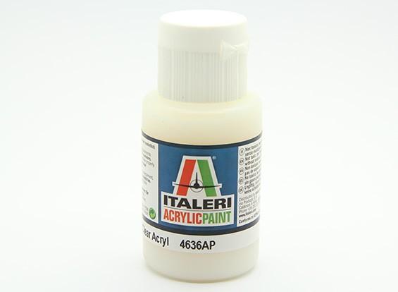 Italeri Acrylic Paint - Flat Clear (4636AP)