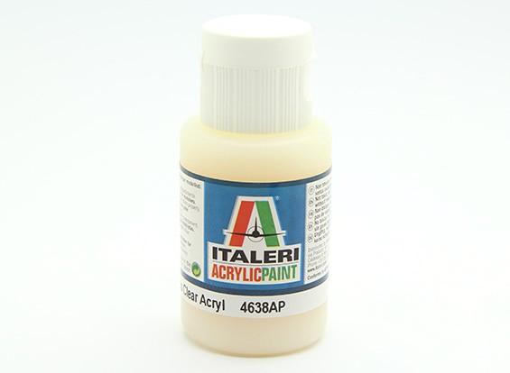 Italeri Acrylic Paint - Gloss Clear (4638AP)