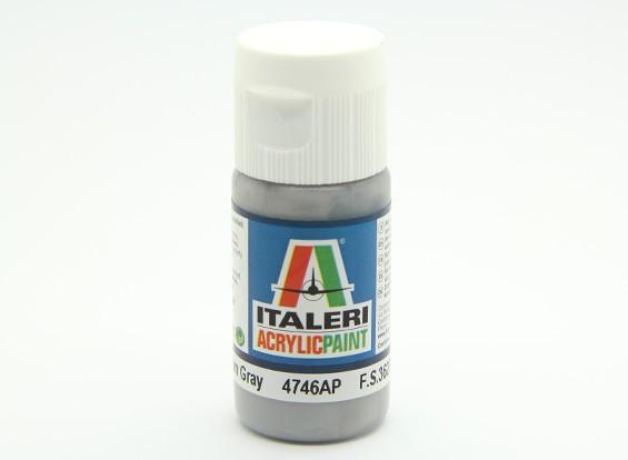 Italeri Acrylic Paint - Flat Medium Gray (4746AP)