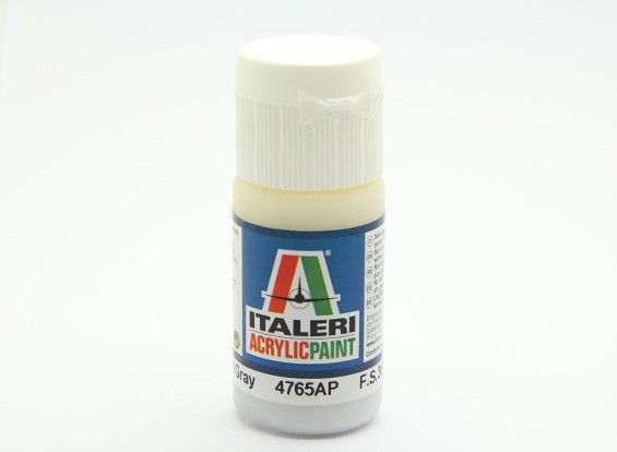 Italeri Acrylic Paint - Flat Light Gray (4765AP)