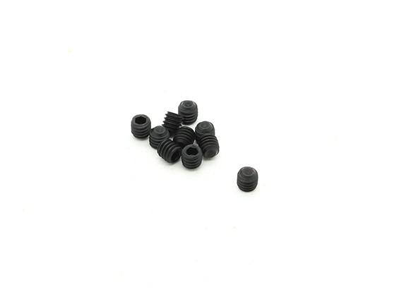 RJX X-TRON 500 M4 x 4mm Grub Screws # XT90-9069 (10pcs)