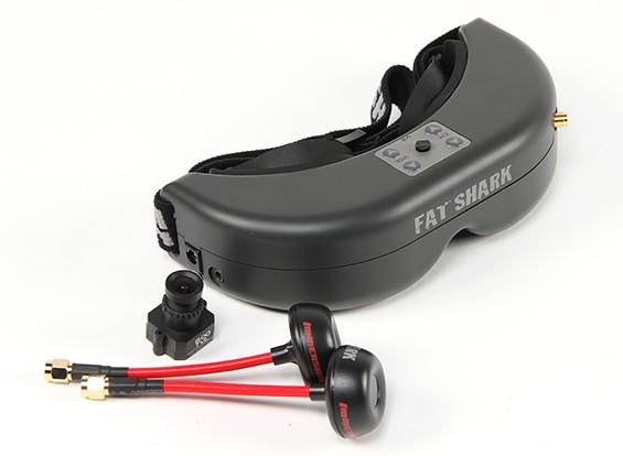 FatShark PredatorV2 CE Compliant FPV Goggle System w/Camera and 5.8GHz TX (RTF)