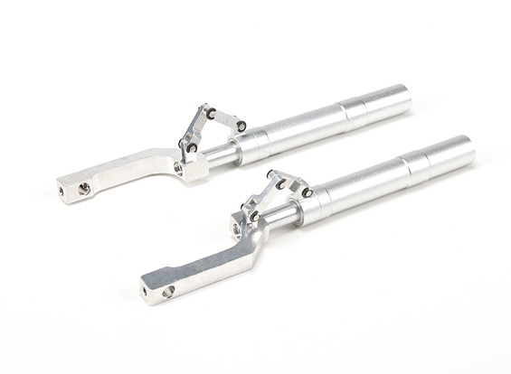Alloy Oleo Struts Offset with Trailing Link 148mm~12.7mm Pin (2pcs)