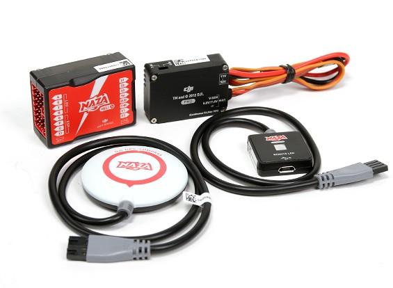 DJI NAZA-H Helicopter Flight Controller FBL Gyro System w/GPS