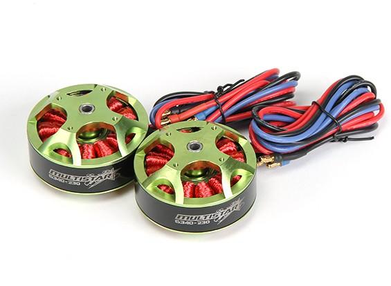 6340-230KV Turnigy Multistar Brushless Multi-Rotor Motors Set (2 pcs)