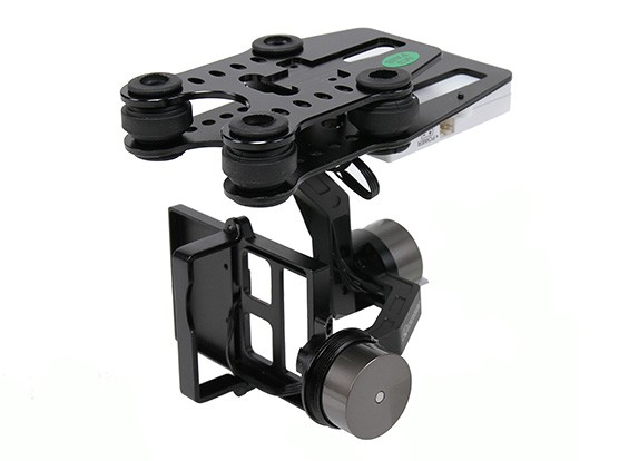 Quanum Q-2D Brushless GoPro 3 Gimbal (suitable for Nova, Phantom, QR X350 and others)