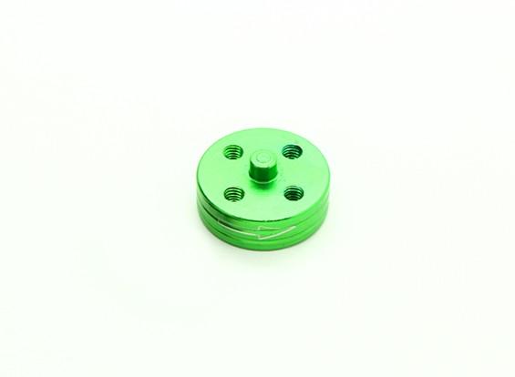 CNC Aluminum Quick Release Self-Tightening Prop Adapter - Green (Prop Side) (Clockwise)