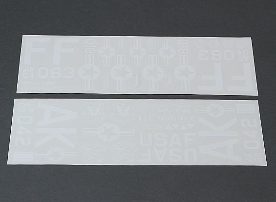 USAF Self Adhesive Decal Set