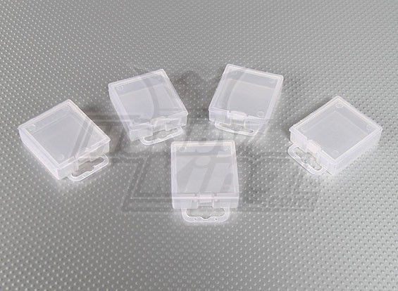 Part Boxes (PP Transparent) 5pcs