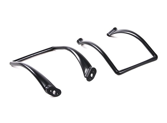 DJI Phantom Series - Extended Curved Landing Gear (Black) (2pc)