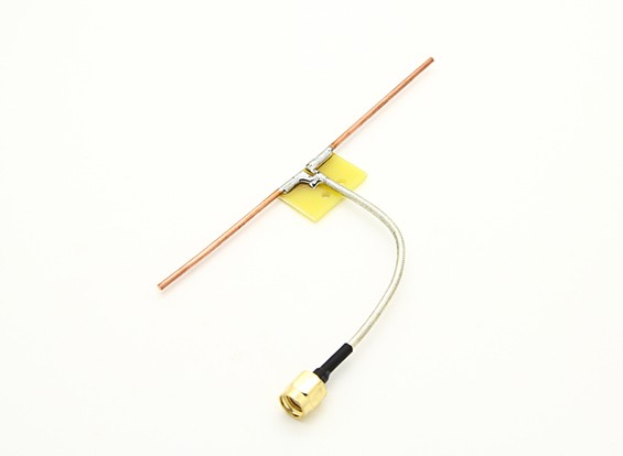 1.3GHz Dipole Coaxial Feed Direct Connect Quarter Wave Antenna (RP-SMA)