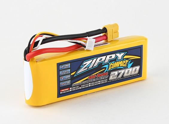 ZIPPY Compact 2700mAh 3s 40c Lipo Pack