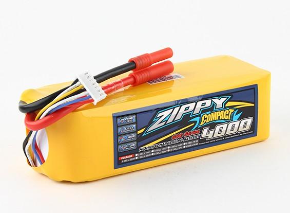 ZIPPY Compact 4000mAh 6s 60c Lipo Pack