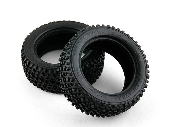 Basher RZ-4 1/10 Rally Racer - 26mm Front Tires (2pcs)
