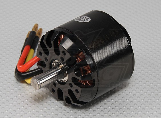 C6364-230kv Brushless Outrunner Motor (Black)