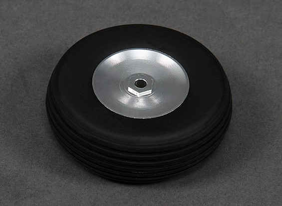 Turnigy 63mm Alloy Wheel/Rubber Tyre