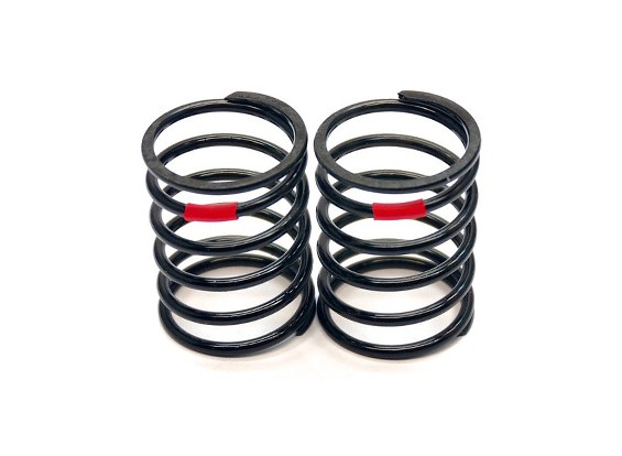 VBC Racing WildFireD06 - TBB Shock Spring (Red-Medium Soft) (2pcs)