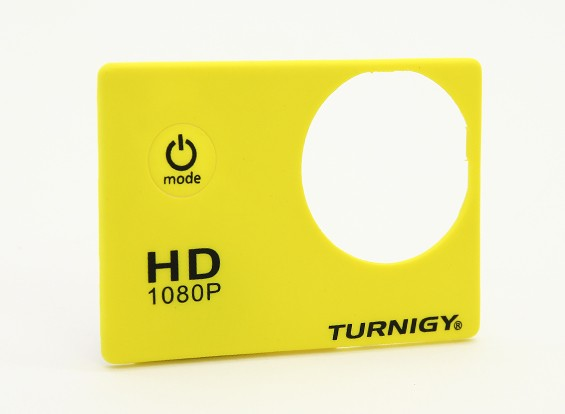 Turnigy ActionCam Replacement Faceplate - Yellow