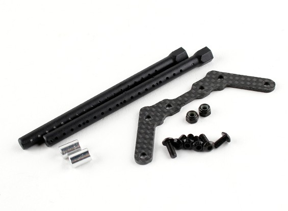 BSR Racing M.RAGE 4WD M-Chassis - Option Body Mount Set (For Tamiya M size body)