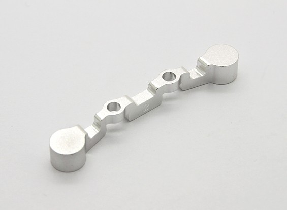 BSR Racing M.RAGE 4WD M-Chassis - Option Alu. 2° Rear Suspension Arm Mount