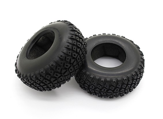 Tires - Basher PBull 1/18 4WD Desert Buggy (2pcs)