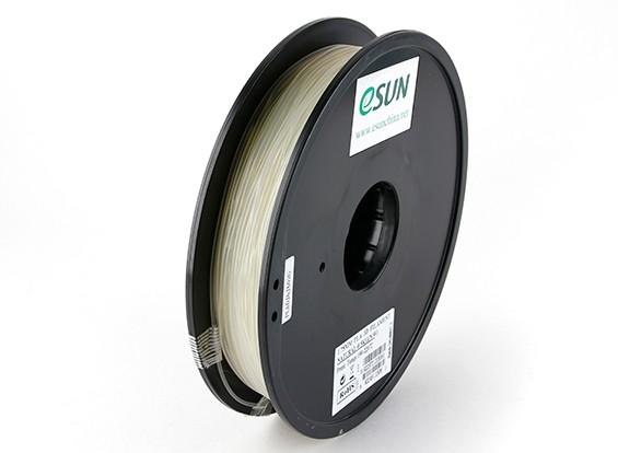 ESUN 3D Printer Filament Natural 1.75mm PLA 0.5KG Spool