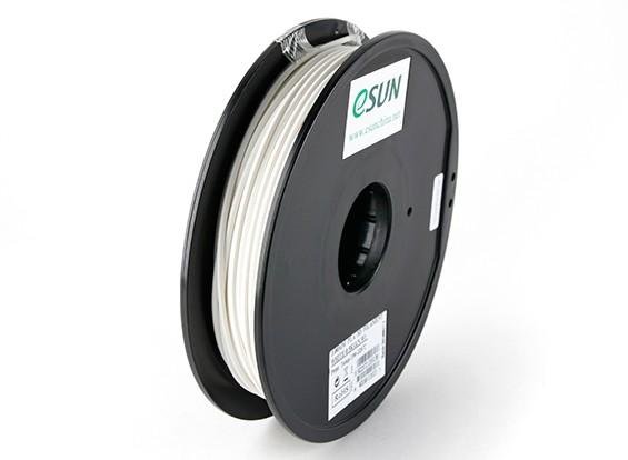 ESUN 3D Printer Filament White 3mm PLA 0.5KG Spool