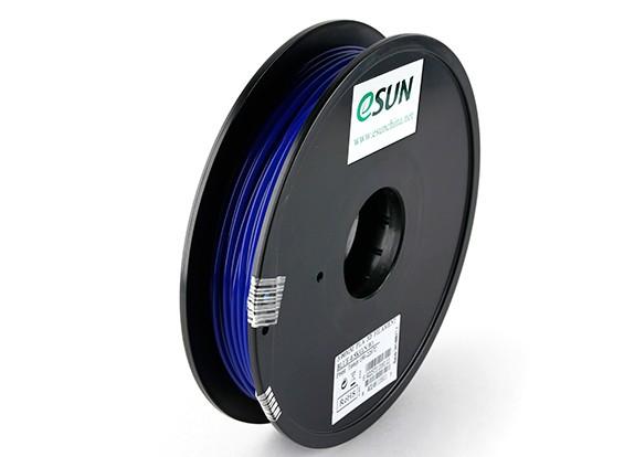 ESUN 3D Printer Filament Blue 3mm PLA 0.5KG Spool