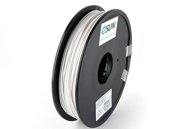 ESUN 3D Printer Filament White 1.75mm ABS 0.5KG Spool