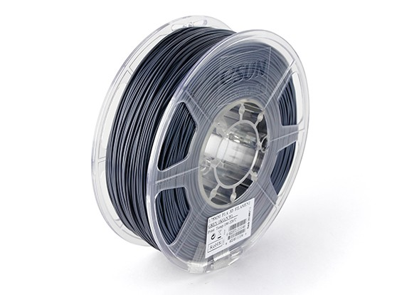 ESUN 3D Printer Filament Grey 1.75mm PLA 1KG Roll