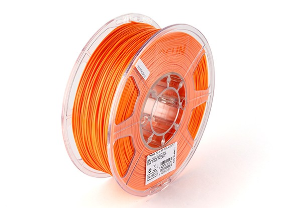 ESUN 3D Printer Filament Orange 1.75mm PLA 1KG Roll