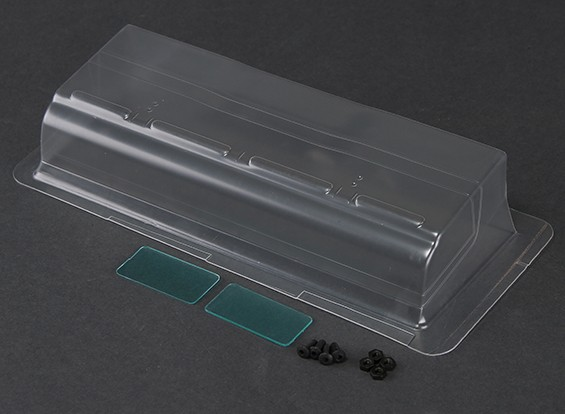 RiDE High Downforce Wing - IFMAR approved (Clear)