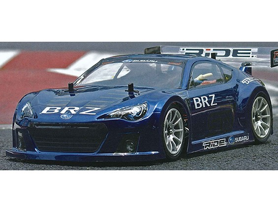 RiDE Subaru BRZ Race Car Concept Body for 210~225mm wheelbase M-Chassis - Clear