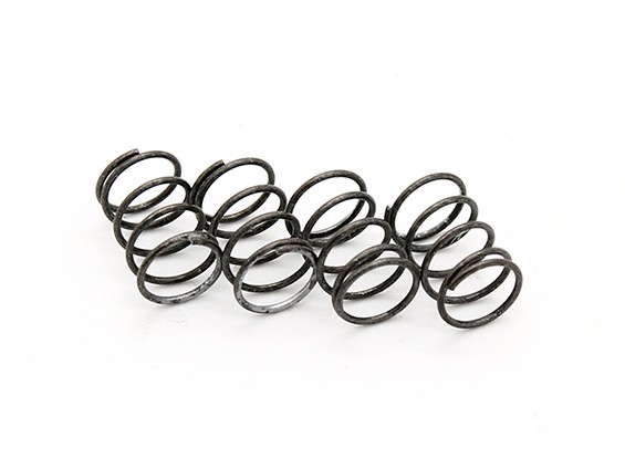 RiDE F1 Front Spring for Rubber Tire - Silver Soft (4pcs)