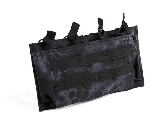 SWAT Open Top M4 Molle Quad Magazine Pouch (Kryptek Typhon)