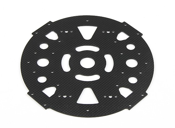 HobbyKing™ S600 Carbon and Metal Quadcopter Lower Main Plate