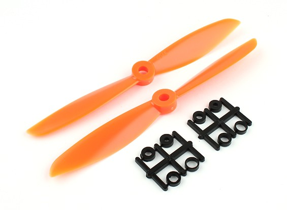 Gemfan Propeller 6x4.5 Orange (CW/CCW) (2pcs)