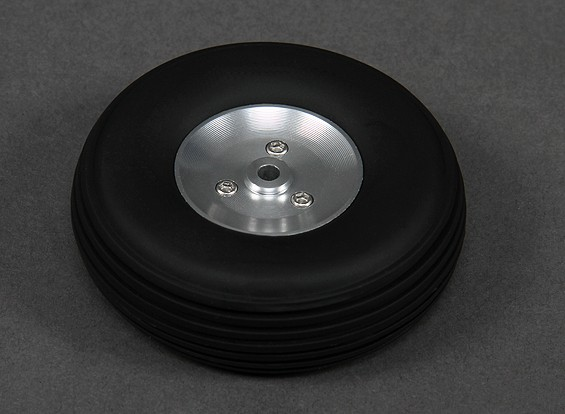 Turnigy 68mm Alloy Wheel/Rubber Tyre