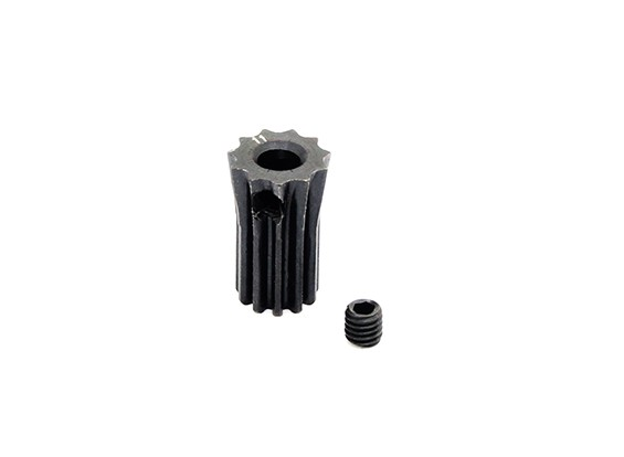 Hobbyking™ 0.5M Hardened Steel Helicopter Pinion Gear 3.17mm Shaft - 11T