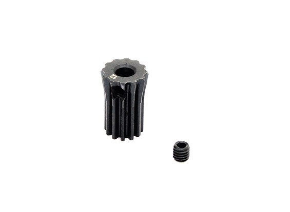 Hobbyking™ 0.5M Hardened Steel Helicopter Pinion Gear 3.17mm Shaft - 12T