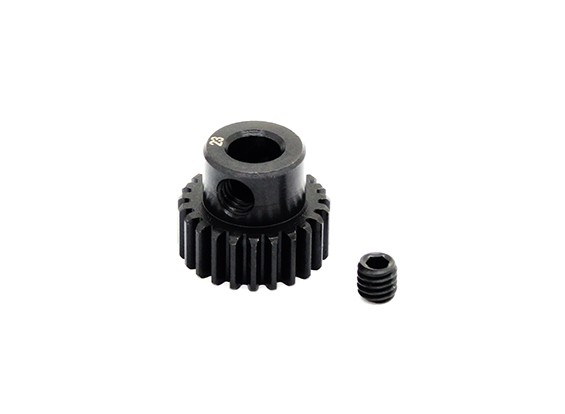 Hobbyking™ 0.6M Hardened Steel Helicopter Pinion Gear 5mm Shaft - 23T