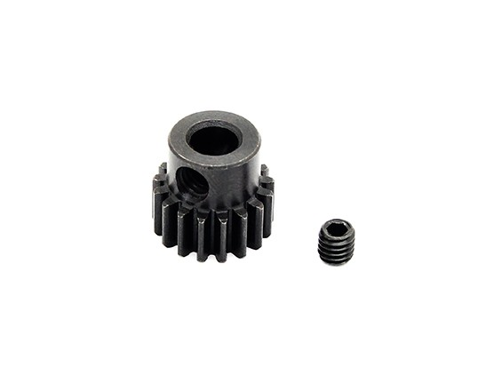 Hobbyking™ 0.7M Hardened Steel Helicopter Pinion Gear 5mm Shaft - 17T