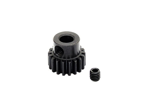 Hobbyking™ 0.7M Hardened Steel Helicopter Pinion Gear 5mm Shaft - 18T