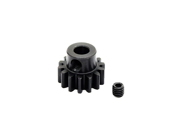 Hobbyking™ 1.0M Hardened Steel Helicopter Pinion Gear 5mm Shaft - 14T