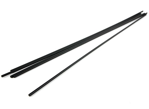 HobbyKing Antenna Tube - Black (5pcs)