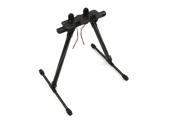 HML 650 Retractable Carbon Landing Gear for Multi-Rotors with Control Unit