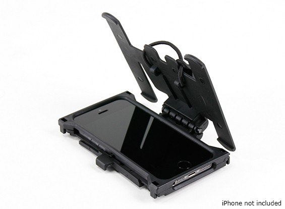 FMA Mobile case with MOLLE platform for iPhone 5/5S (Black)