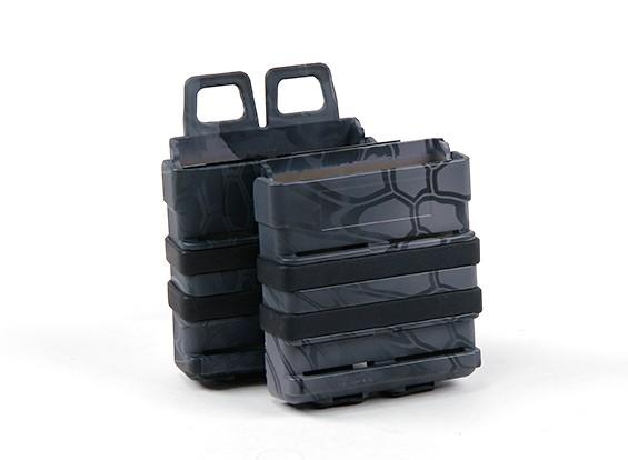 FMA FastMag magazine holster for 7.62 mag AK/M14/SR25 (Kryptek Typhon, 2pcs set)