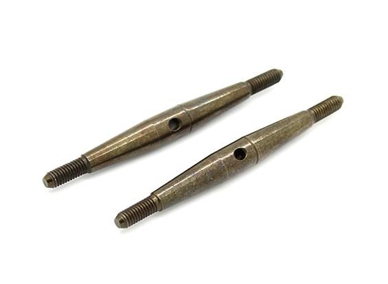 TrackStar 1/10 Spring Steel Turnbuckle M3x50 (2pcs)