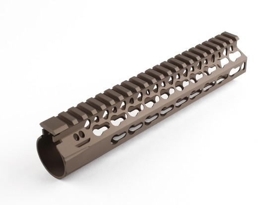 """Dytac Bravo Rail 9 inch for Systema PTW profile (1 1/4"""" /18, Dark Earth)"""